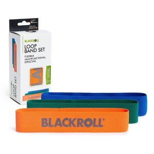 Blackroll Loop Band Set - Fabric Resistance Band - 3 Band Set
