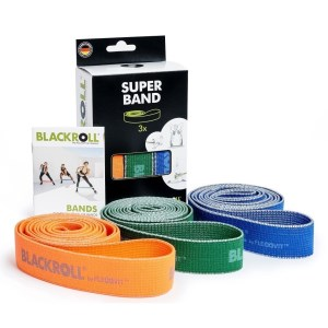 Blackroll Super Fitness Band Set - 3 Band Set